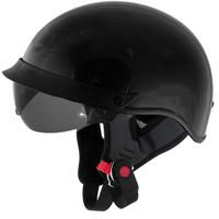 Cyber Helmets U-72 Solid Helmet  Black