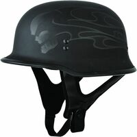 Fly Racing 9MM Ghost/Skull Helmet
