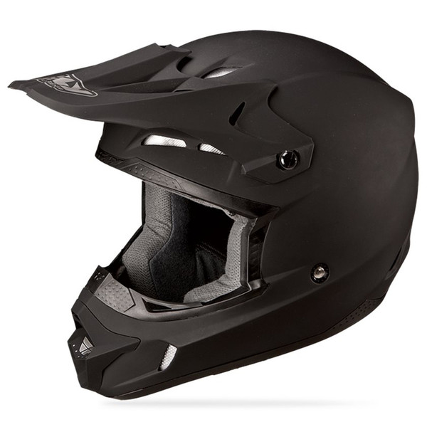 Fly Racing Kinetic Solid Helmet Side View