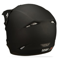 Fly Racing Kinetic Solid Helmet Back Side