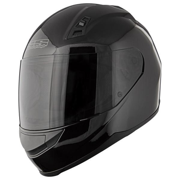 Speed & Strength SS700 Solid Helmet Black