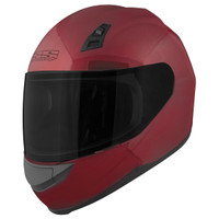 Speed & Strength SS700 Solid Helmet Red