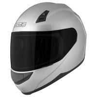 Speed & Strength SS700 Solid Helmet Silver