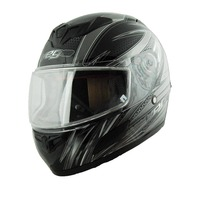 Vega Insight Snow Full Face Helmet with Razor Graphic