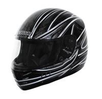 Vega Trak Full Face Karting Helmet With Universe Graphic