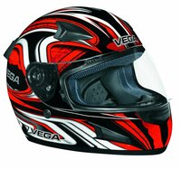 Vega X888 Full Face Helmet with Daisho Graphic