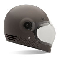 Bell Ps Bullitt Retro Metallic Titanium Full Face Helmet