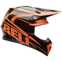 Bell PS Moto 9 Black Tracker Offroad Helmet Black/Orange