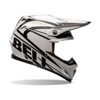 Bell PS Moto 9 Black Tracker Offroad Helmet White/Black