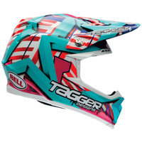 Bell PS Moto 9 Tagger Trouble Offroad Helmet