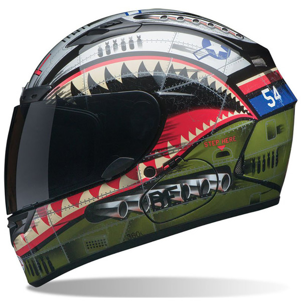 Bell PS Qualifier DLX Devil May Care Full Face Helmet