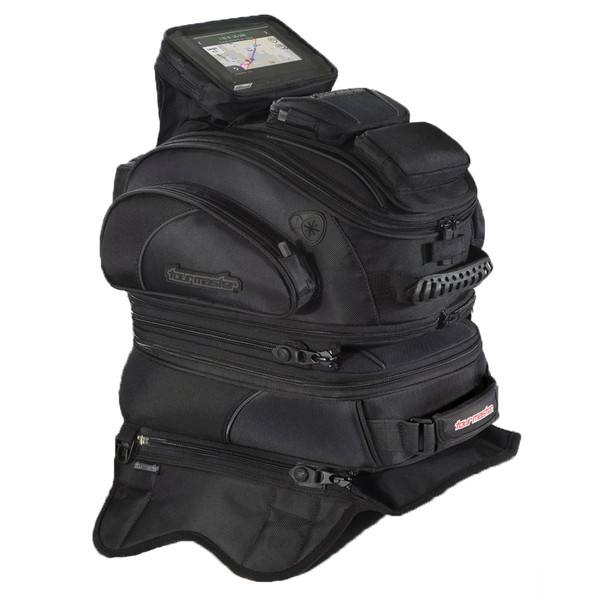 Tour Master Elite Strap Mount Tribag Tank Bag Black