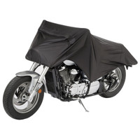 Tour Master Select UV Motorcycle Half Cover Black