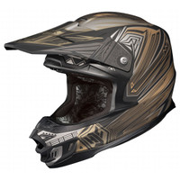 HJC FG-X Legendary Lucha Motocross Helmet Gray