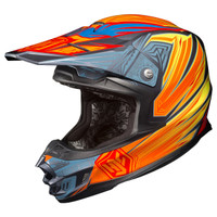 HJC FG-X Legendary Lucha Motocross Helmet Orange