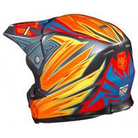 HJC FG-X Legendary Lucha Motocross Helmet Orange 1