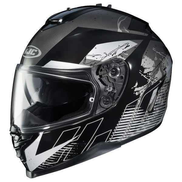 HJC IS-17 Blur Helmet Black