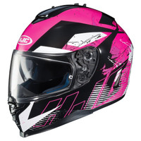 HJC IS-17 Blur Helmet Pink