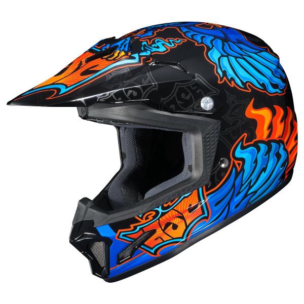HJC Youth CL-XY 2 Eye Fly Helmet Blue