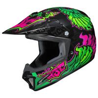HJC Youth CL-XY 2 Eye Fly Helmet Green