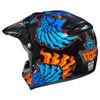 HJC Youth CL-XY 2 Eye Fly Helmet Blue1