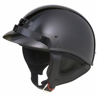 G-Max GM35F Solid Full Dressed Helmet Black