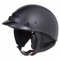 G-Max GM35F Solid Full Dressed Helmet Flat Black