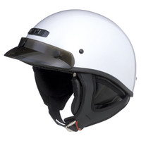 G-Max GM35F Solid Full Dressed Helmet White