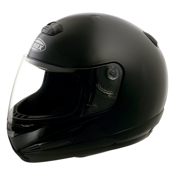 G-Max GM38 Solid Helmet Black