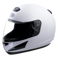 G-Max GM38 Solid Helmet White