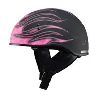 G-Max GM65 Flame Helmet Pink
