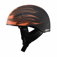 G-Max GM65 Flame Helmet Orange