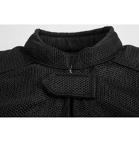 Black Brand Flow Mesh Jacket 4