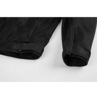 Black Brand Flow Mesh Jacket 5