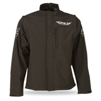 Fly Racing Black Ops Convertible Jacket Black