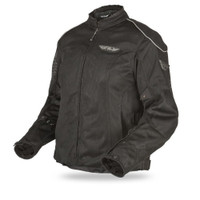 Fly Racing Coolpro II Ladies Mesh Jacket Black