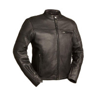 First Classics Manchester Perforated Sleeve Jacket 1