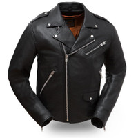 First Classics Enforcer Traditional Basic Biker Jacket