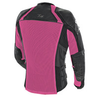 Joe Rocket Women's Cleo Elite Jacket Pink Back Side View
