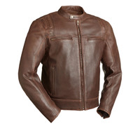 First classics Carbon Men's Brown Scooter Jacket 1