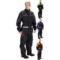 Viking Cycle Two Piece Motorcycle Rain Suit