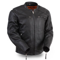 First Classics Speed Demon Men's Vented Bomber Jacket