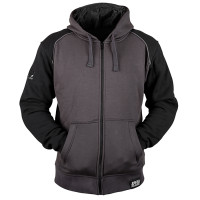 Speed and Strength Cruise Missile Armored Hoody Gray Front View