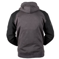 Speed and Strength Cruise Missile Armored Hoody Gray Back View