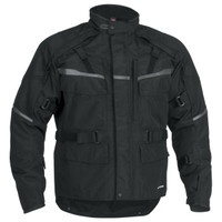 Firstgear Jaunt T2 Jacket Black Front Side View
