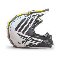 Fly Racing F2 Carbon MIPS Zoom Helmet White 1