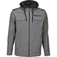 Fly Racing Waxed Jacket Gray