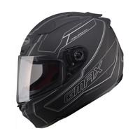 G-Max - FF88 Derk Helmet Matte Black / Silver