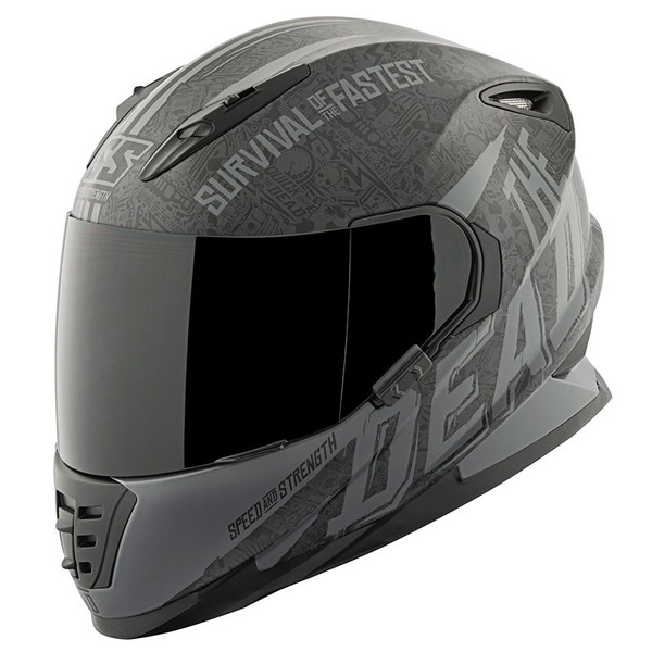 Speed and Strength SS1310 The Quick And The Dead Helmet Black