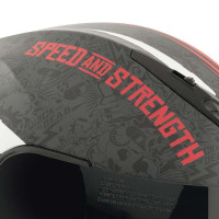 Speed and Strength SS1310 The Quick And The Dead Helmet Red